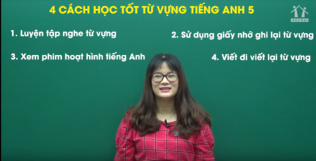 Cô giáo tiếng Anh thích dạy học sinh lười