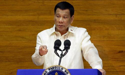 Duterte gọi vụ tàu cá Philippines bị đâm chìm trên Biển Đông là ''tai nạn'' -