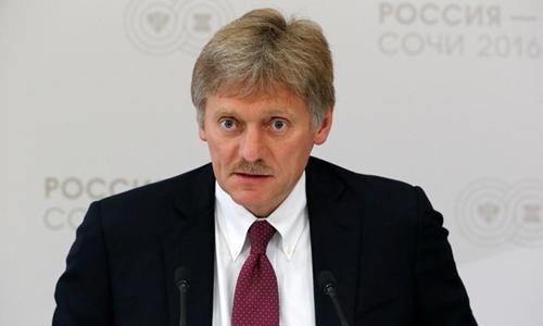 Phát ngôn viên Điện Kremlin Dmitry Peskov. Ảnh: Reuters.