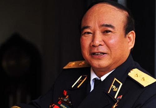 Phó đô đốc Nguyễn Văn Tình. Ảnh: Trần Việt Văn