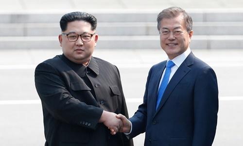 Moon Jae-in muốn gặp Kim Jong-un trước khi Trump thăm Hàn Quốc - ảnh 1