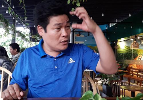 Nghi can Nguyễn Tấn Lương. Ảnh: Thái Hà.