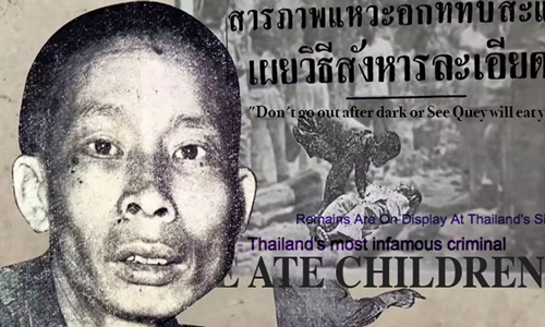 Si Quey, người nhập cư Trung Quốc bị coi là kẻ giết trẻ em hàng loạt ở Thái Lan. Ảnh: SCMP.