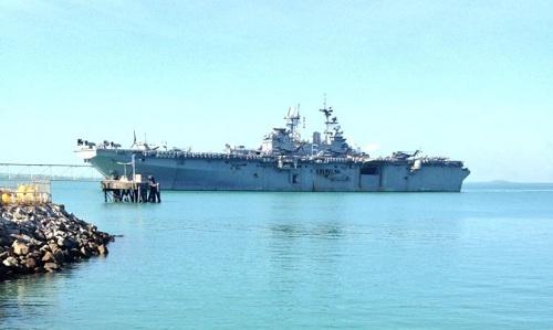 Australia bí mật xây cơ sở cho lính Mỹ gần cảng Trung Quốc thuê
