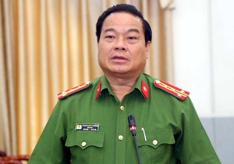 Đại tá Phạm Mạnh Thường, Phó Cục trưởng Cục Cảnh sát hình sự (Bộ Công an). Ảnh: Kỳ Anh