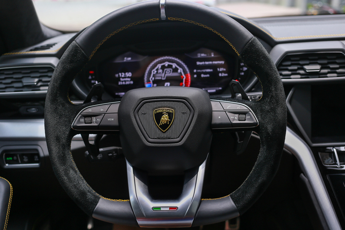 Siêu SUV Lamborghini Urus giá hơn 20 tỷ tại Việt Nam