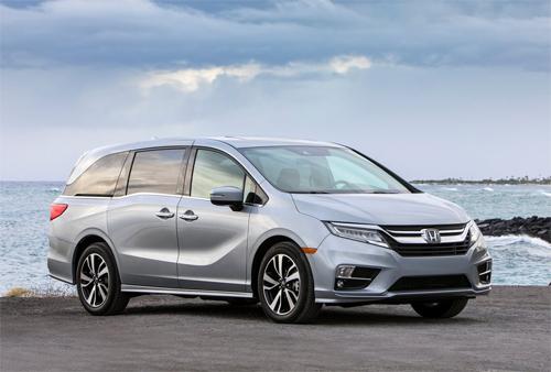 Honda Odyssey đứng thứ hai và là năm thứ hai liên tiếp giữ vị trí này.