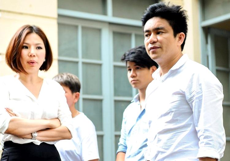 Vợ chồng bác sĩ Chiêm Quốc Thái trước ngày xảy ra vụ án.