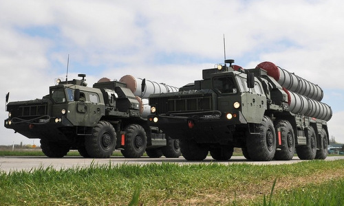 Xe phóng đạn thuộc tổ hợp S-300 của Nga. Ảnh: Sputnik.