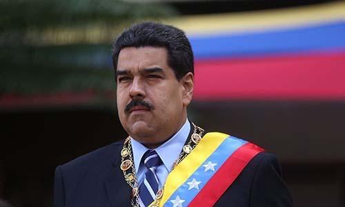 Tổng thống Venezuela Nicolas Maduro. Ảnh: AleviNet.