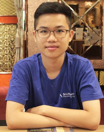 Lưu Minh Dũng, tân sinh viênĐại học Dartmouth, Mỹ. Ảnh: Tú Anh