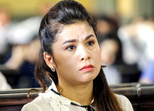 Bà Thảo tại phiên tòa ly hôn. Ảnh: Thành Nguyễn.