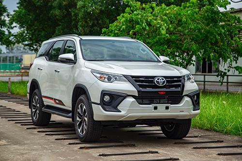 Toyota Fortuner bản lắp ráp tại nhà máy của hãng ở Vĩnh phúc. Ảnh: Toyota