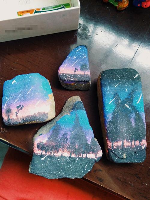Những bức tranh đá tuyệt đẹp.