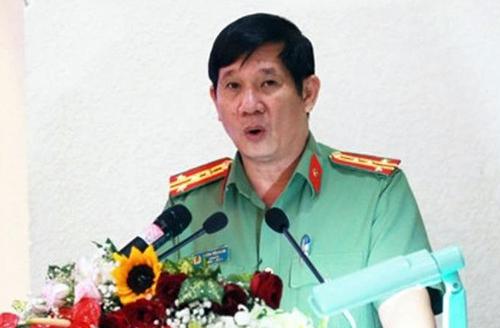 Đại tá Huỳnh Tiến Mạnh. Ảnh: Báo Đồng Nai