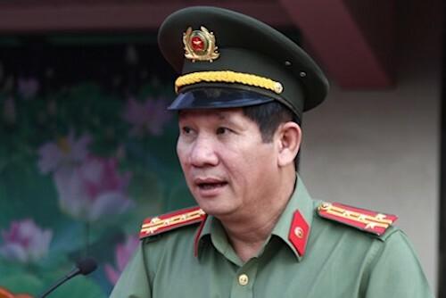 Đại tá Huỳnh Tiến Mạnh. Ảnh:Phan Tuấn/ANHP