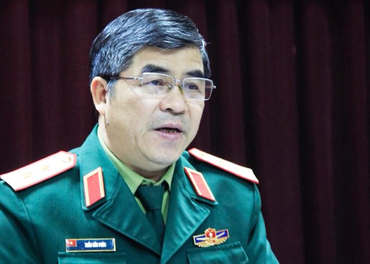 Trung tướng Trần Hữu Phúc. Ảnh: Dương Tâm