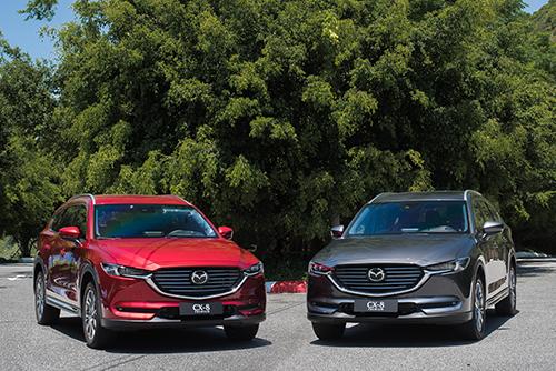 Mazda CX-8, sản phẩm mới được Trường Hải lắp ráp từ 2019. Ảnh: THACO