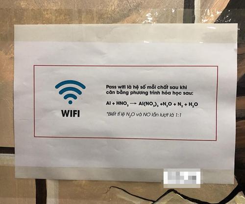 Pass wifi là hệ số mỗi chất sau khi cần bằng phương trình hóa học.