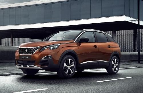 Thiết kế mang dáng vẻ châu Âu của Peugeot 3008.