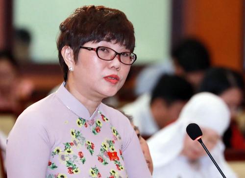 Đại biểu Nguyễn Thị Tố Trâm. Ảnh: Hữu Khoa.