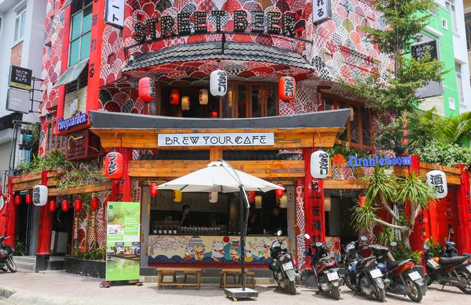 Quán cà phê kiểu Nhật cho khách tự pha chế ở Sài Gòn