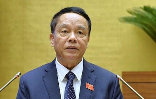Chủ nhiệm Uỷ ban Quốc phòng An ninh Võ Trọng Việt. Ảnh: Trung tâm báo chí Quốc hội