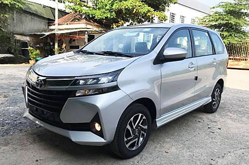 Avanza 2019 nhập khẩu Indonesia tại một đại lý Toyota ở Bình Dương.