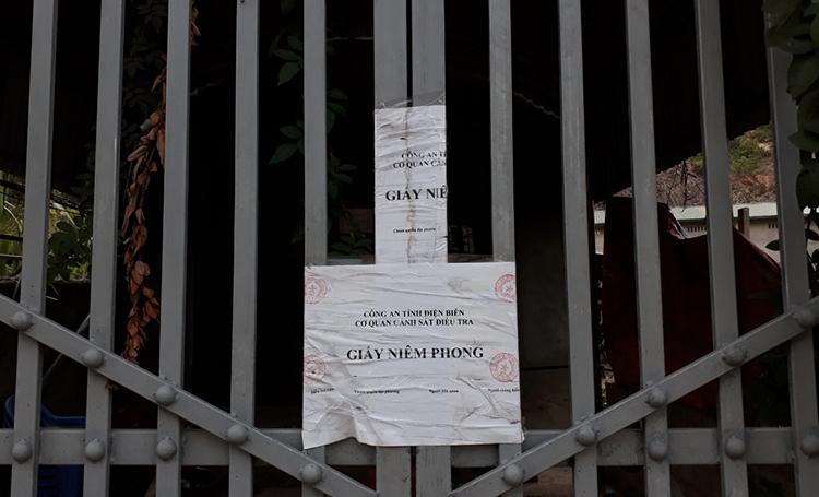 Nhà Bùi Văn Công, nơi xác định là hiện trường chính của vụ án. Ảnh: Phạm Dự.