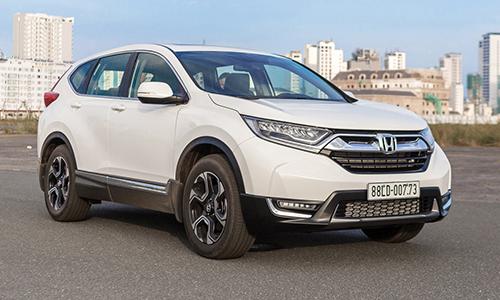 Honda CR-V ra mắt tại Nha Trang cuối năm 2017. Ảnh: Ngọc Tuấn