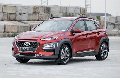 Hyundai Kona tại nhà máy Ninh Bình. Ảnh: Lương Dũng.