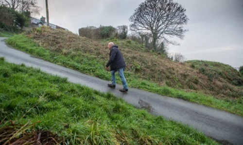 Con đường dốc nhất thế giới ở Wales -