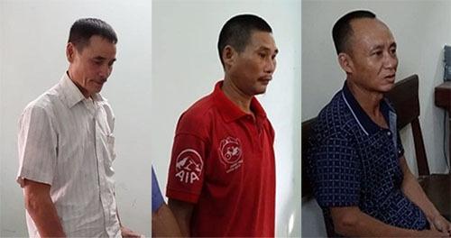 Ba người đàn ông bị khởi tố vì gây cháy rừng - ảnh 1