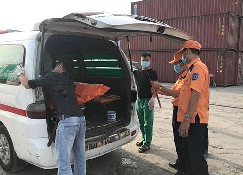 Hai thi thể được tìm thấy gần vị trí tàu cá Nghệ An gặp nạn - ảnh 1