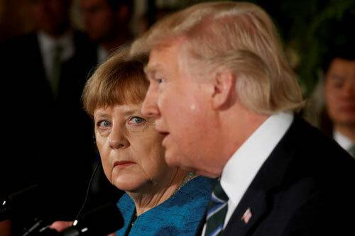 Thủ tướng Đức chỉ trích Trump về phát ngôn với nữ nghị sĩ da màu - ảnh 1