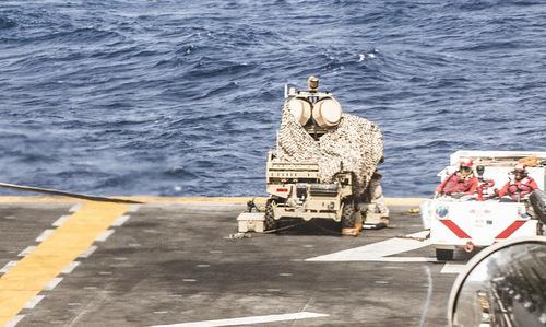 Lưới phòng thủ đa tầng bảo vệ tàu đổ bộ Mỹ gần Iran - ảnh 2