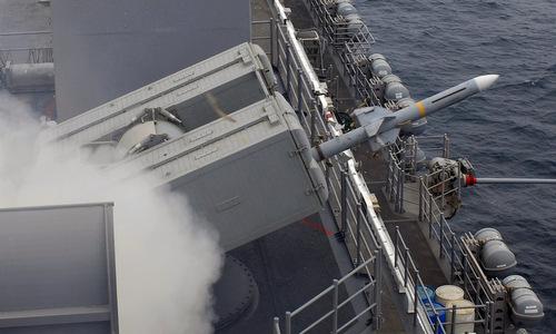 Lưới phòng thủ đa tầng bảo vệ tàu đổ bộ Mỹ gần Iran - ảnh 3