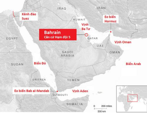 Tàu đổ bộ Mỹ đóng vai trò căn cứ tiền phương nếu xung đột với Iran nổ ra - ảnh 2