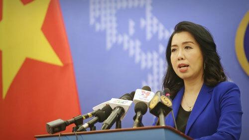 Người phát ngôn Bộ Ngoại giao Việt Nam Lê Thị Thu Hằng. Ảnh: BNGVN.