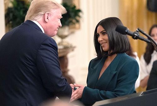 Kim Kardashian cảm ơn Trump vì giúp phóng thích một rapper - ảnh 1