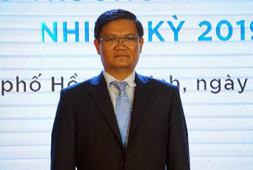 Ông Nguyễn Minh Hà trong buổi lễ nhận quyết định. Ảnh: Mạnh Tùng.