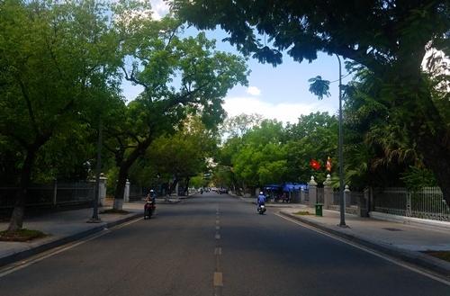 Tuyến đường Lê Lợi sẽ thành phố bảo tàng. Ảnh: Võ Thạnh
