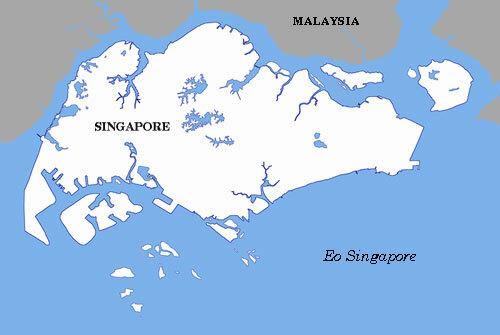 Vị trí eo biển Singapore. Đồ họa: Atlas.