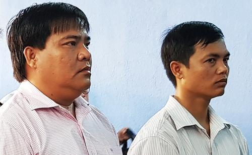 Hai cựu cán bộ Chi cục Quản lý thị trường Sóc Trăng lĩnh án - ảnh 1