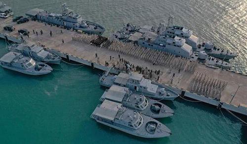 Căn cứ hải quân Ream của Campuchia. Ảnh: Khmer Times.