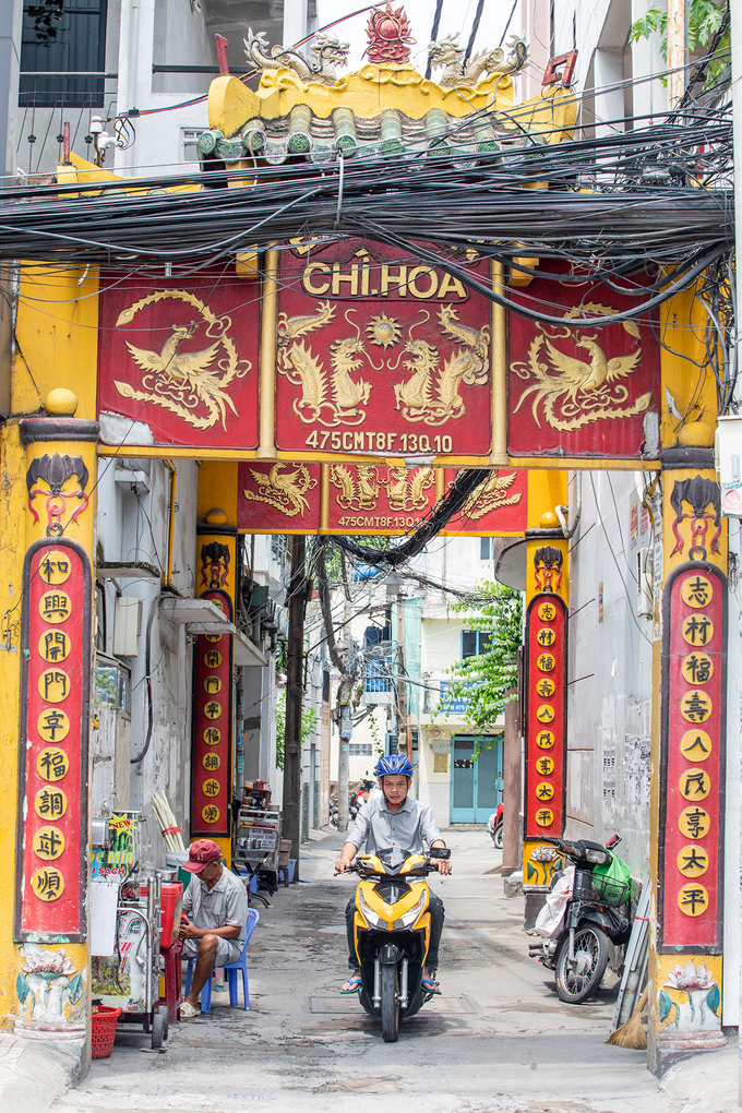 Ngôi đình cổ từng là nơi dạy học ở Sài Gòn