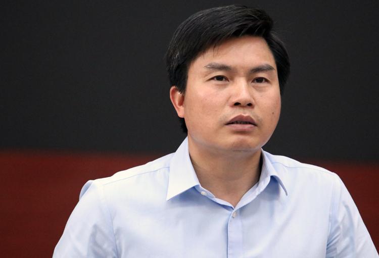 Ông Lê Tuấn Định, Phó giám đốc Sở Tài nguyên Môi trường Hà Nội. Ảnh: Võ Hải.
