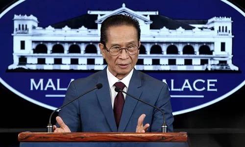 Người phát ngôn Phủ Tổng thống Philippines Salvador Panelo. Ảnh: Phủ Tổng thống Philippines.