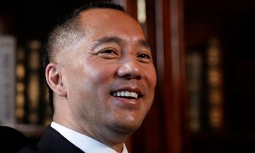 Tỷ phủ Trung Quốc Quách Văn Quý, người đang sống lưu vong ở New York. Ảnh: Reuters.