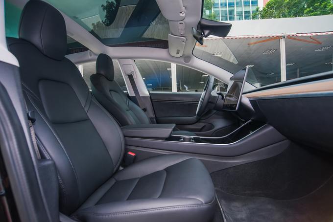 Ôtô điện Tesla Model 3 đầu tiên tại Việt Nam